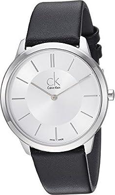 Calvin Klein Mens Minimal Watch - K3M211C6