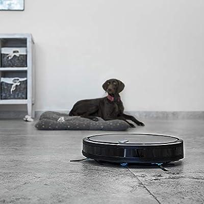 Cecotec Robot Aspirador Conga Serie 1099 Connected. 1400 Pa, Aspira, Barre, Friega y Pasa la Mopa, Cepillo Especial Mascotas, Mando a Distancia, Compatible con Alexa y Google Home, Muro Magnético: Amazon.es: Hogar