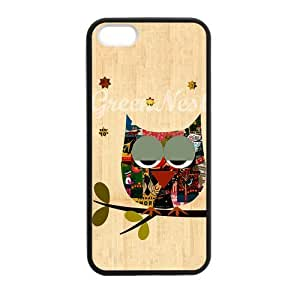 Get Your Own Style Of Owl custom TPU Cover Case For iPhone5 iPhone5S(Laser Technology) by runtopwell