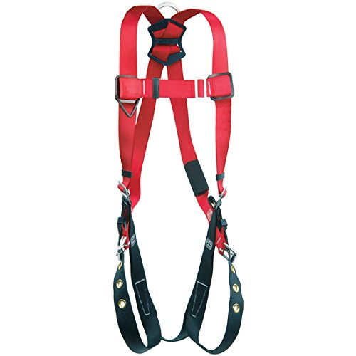 Capital Safety DBI//SALA 1191246 DBI//SALA Medium//Large Protecta PRO Full Body//Vest Style Harness with Back and Side D-Ring and Tongue Leg Strap Buckle 16 x 16 x 9 Plastic
