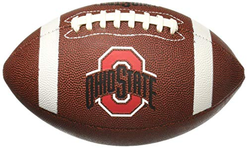 NCAA Game Time Full Size Football , Ohio State Buckeyes, Brown, Full Size