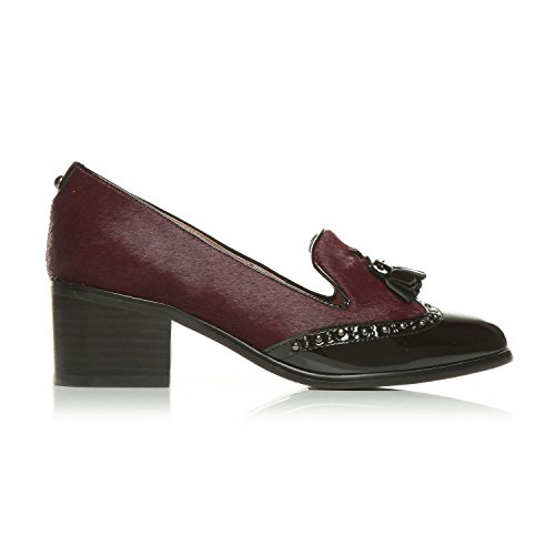 Moda Carletta Scarpe in Pelle 8 UK