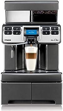 Saeco Aulika Top RI High Speed Cappuccino Independiente Totalmente automática - Cafetera (Independiente, Cafetera combinada, 4 L, Molinillo integrado, 1400 W, Plata): Amazon.es: Hogar