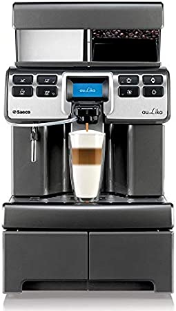 Saeco Aulika Top RI High Speed Cappuccino Independiente Totalmente automática - Cafetera (Independiente, Cafetera combinada, 4 L, Molinillo integrado, 1400 W, Plata): Amazon.es: Hogar
