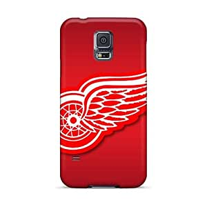 LeoSwiech Samsung Galaxy S5 Scratch Protection Phone Cover Support Personal Customs Attractive Detroit Red Wings Series [sHS20411SFeU]