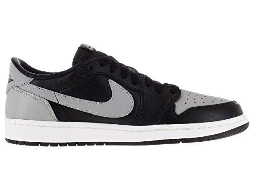 Sport Voile Homme Retro Gris Og Air Chaussures 1 De Noir Moyen noir Nike Jordan Low Aw8RqW6z