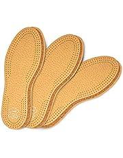 Kaps 3 par skoinlägg set Pecari Cork Premium | Av högklassigt växtärvat läder och naturlig kork | Elegant och bekväm | olika storlekar