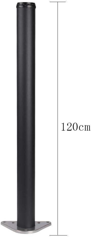 Patas de mesa telesc/ópicas ajustables negras patas de soporte de gabinete patas de mesa de soporte patas patas 725 de largo