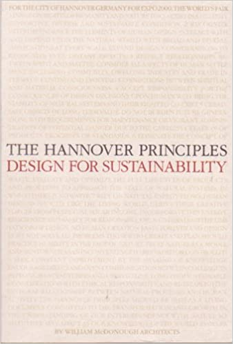 the hannover principles design for sustainability prepared for expo 2000 the worlds fair