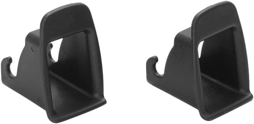 Kshzmoto 2 Pcs Car Child Seat ISOFIX Interface Buckle Fixed Guide Groove Seat Belt Bracket Connector