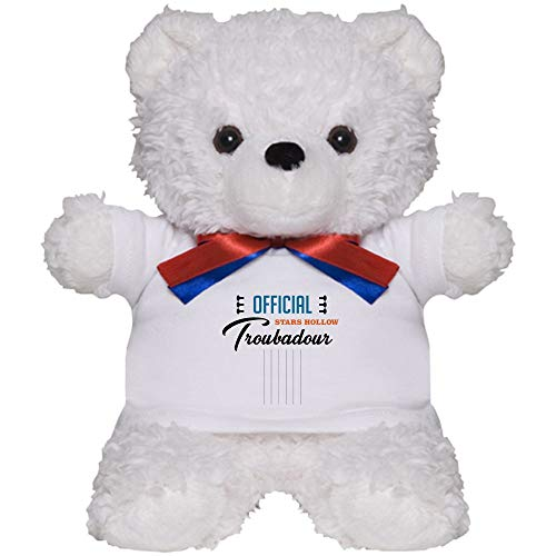 CafePress Official Stars Hollow Troubadour Teddy Bear, Plush Stuffed Animal (Hollow Bear)