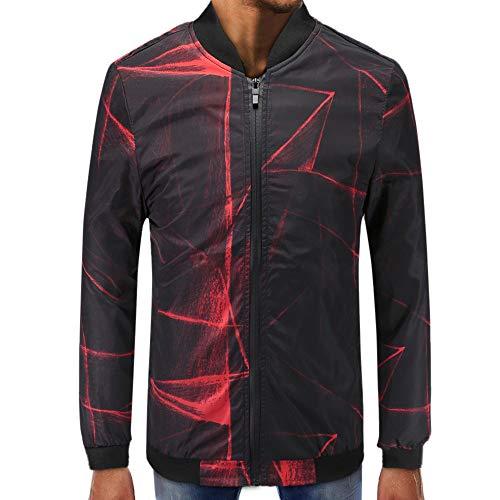 - Mens Printed Zipper Pullover Long Sleeve Sweatshirt Tops Blouse