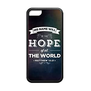 iphone 5/5s iphone 5/5s Case, [Christian Inspiration] iphone 5/5s iphone 5/5s Case Custom Durable Case Cover for iphone 5/5s iphone 5/5s TPU case (Laser Technology)