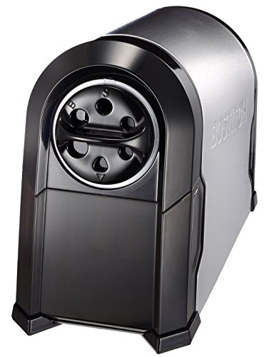 Bostitch Antimicrobial SuperPro  Glow Commercial Electric Pencil Sharpener, 6-Hole, Silver/Black (EPS14HC) Photo #9