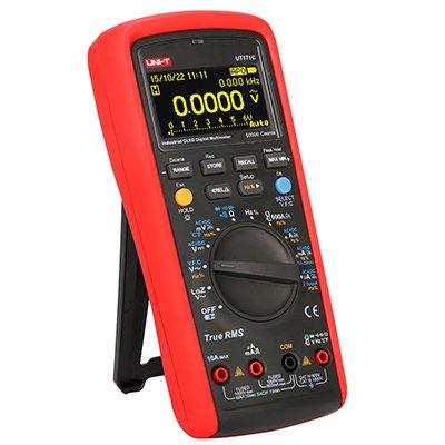 UNI-T Industrial Digital Multimeters UT171C OLED Counts 60000(EBTN) DC Voltage(V) AC Voltage(V) DC Current(A) AC Current(A) Resistance(?) Admittanc(S) Capacitance(F) Frequency(Hz) Temperature(°C)