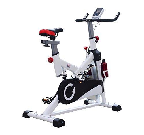 2 opinioni per Homcom – Cyclette per Allenamento Professionale Fitness 103 × 45 × 105cm Bianco