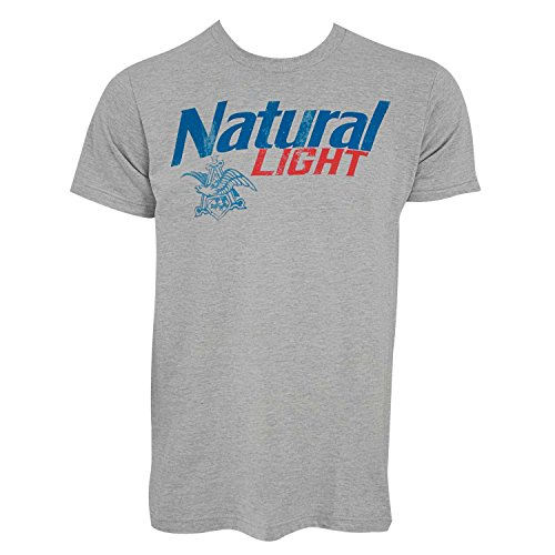 Natural Light New Logo Tee Shirt Large (Logo Light Natural)