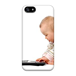 New Fashion Premium Cases Covers For Iphone 5/5s - People Children Hacker