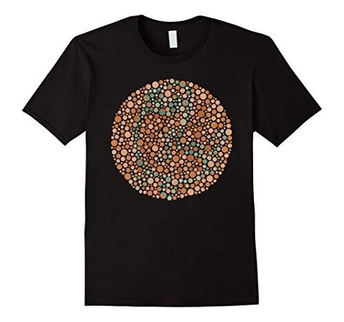 Men's Dickbutt for Color Blind T Shirt - Test Color Blind T Shirt 2XL Black