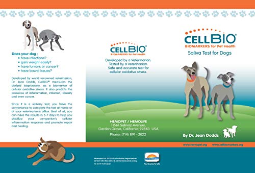 NutriScanCellBIO combo Pet Food Intolerance and Sensitivity Test for Dogs + Biomarker for PreClnical Diagnostics