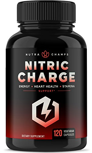 Nitric Oxide Supplement with L Arginine, Citrulline Malate, AAKG, Pine Bark Extract & Beet Root - Powerful NO Booster for Muscle Growth, Strength, Vascularity, Energy & Blood Flow- 120 Vegan Capsules