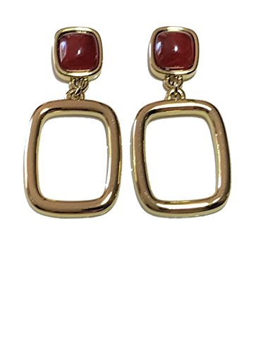 Orange Agate Earrings - 3