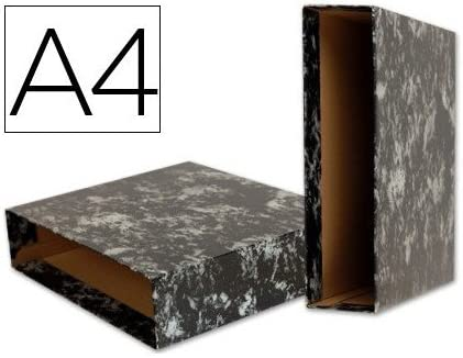 Liderpapel 94922 Classic Blue A4- Caja archivador con mecanismo de palanca, 10x142x138 mm, color negro: Amazon.es: Oficina y papelería