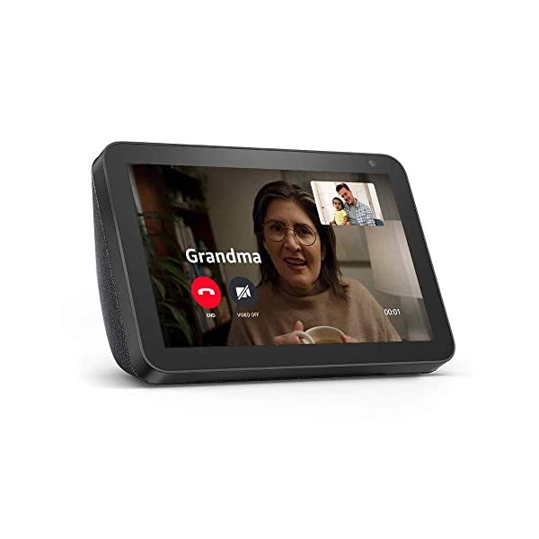 Echo Show 8 -- HD smart display with Alexa – stay connected with video calling - Charcoal 2