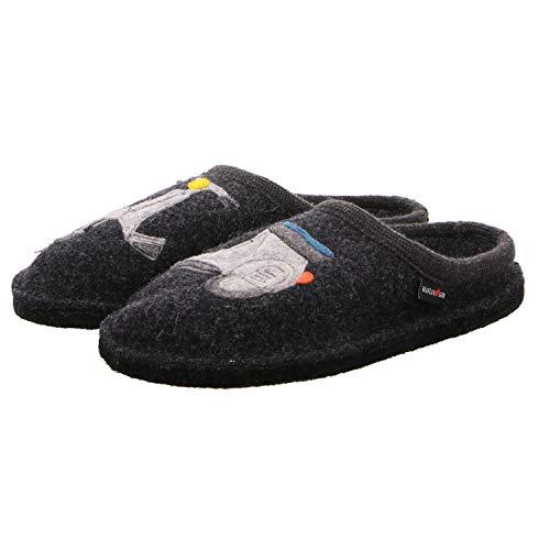 Pantoffeln Unisex 77 Flair Grau Haflinger Graphit Erwachsene Vespa RHOAq