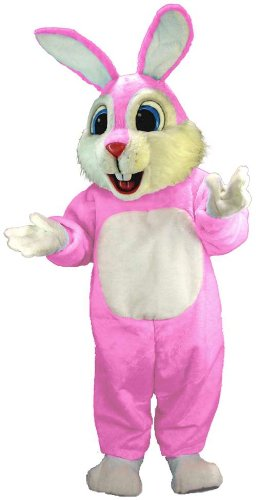 Amazon.com: Rosa Ligero de conejo mascota disfraz: Clothing
