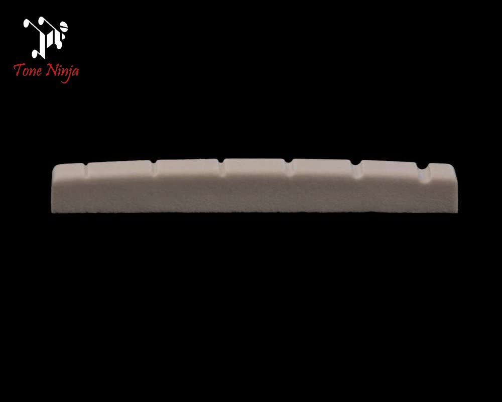 Tone Ninja USA Made Slotted Nut Flat bottomed 42mm White
