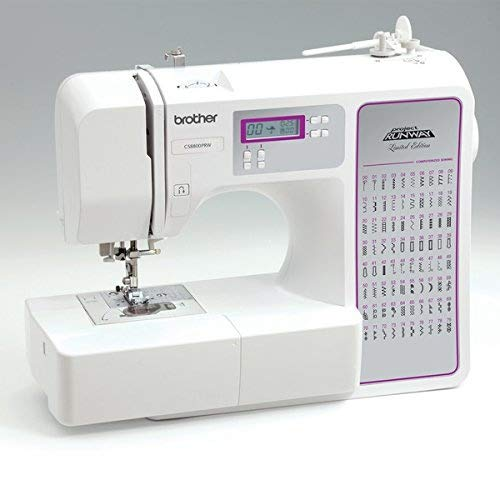 Brother CS-8800PRW Computerized Sewing Machine , Convertible Flatbed Sewing S...