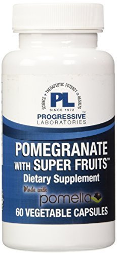 Progressive Labs Pomegranate with Super Fruits Supplement, 60 Count by Progressive Labs