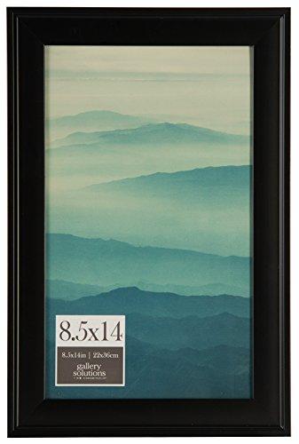 Pinnacle Frames and Accents 8.5x14 Black Digital Photo Frame, 8.5