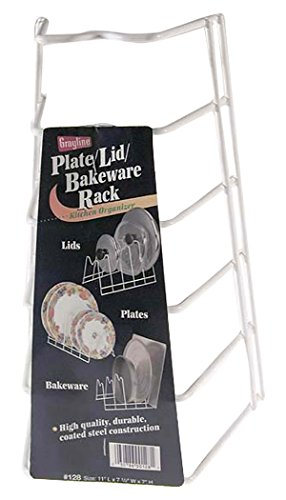 Grayline 40128, Lid/Plate Rack, White