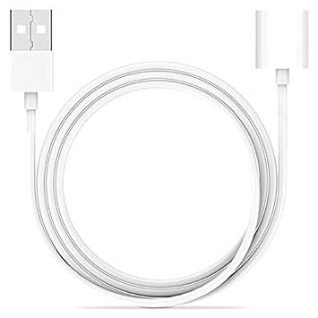 XZANTE 1M Adaptador De Cable Cargador De Lápiz para iPad Pro 12.9, 10.5 Pulgadas,Macho a Hembra Cable De Carga USB De Extensión para Apple Pen Ipencil