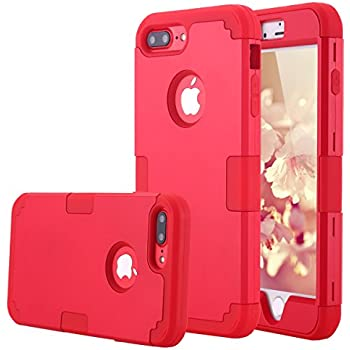 iphone 7 plus case shockproof red