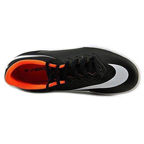 Nike Hypervenomx Pro Street IC - Botas unisex Black, White, Total Orange