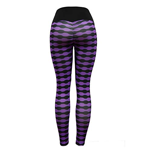 Lila Leggings Taillen Ausdehnungs Laufen Fitness Sport Hohe Yoga die Damen Hosen OYSOHE wfx4q7Px