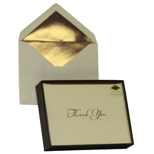 Designer Greetings Monogram Boxed Note Cards - Thank You 3 (622-00155-000)