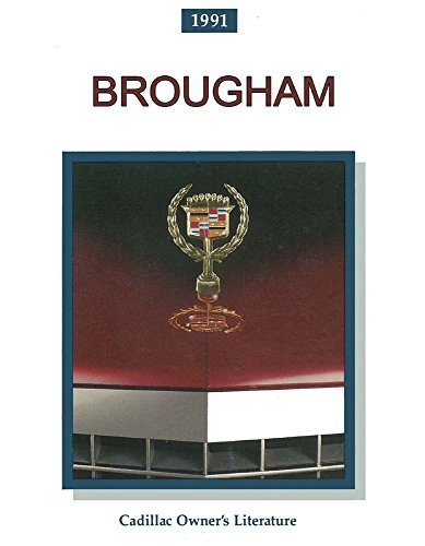 bishko automotive literature 1991 Cadillac Brougham Owners Manual User Guide Reference Operator Book Fuses