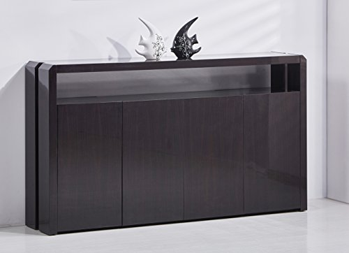 Best Quality Furniture Cappuccino Lacquer Cabinet