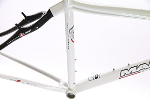 "15"" MARIN MILL VALLEY Hybrid City Bike Frame Alloy/Carbon White 700c NOS NEW"