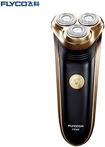 FLYCO nuevo tipo de hombre portátil afeitadora eléctrica cuidado ...