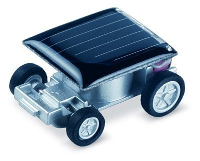 Lowpricenice Solar Car - World's Smallest Solar Powered Car - Educational Solar Powered Toy