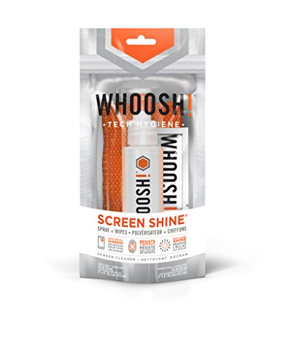 Find Discount WHOOSH! Screen Cleaner - Safe for all Screens - Limited time Offer 1 Oz bottle + 1 Pre...
