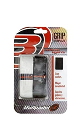Bull padel - Grip Replacement, Color Black/White: Amazon.es: Deportes y aire libre