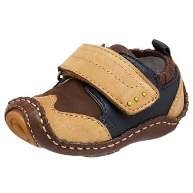 umi Infant/Toddler Puggle Crib Shoe,Tan,16 M EU (US Infant 1-2 M)
