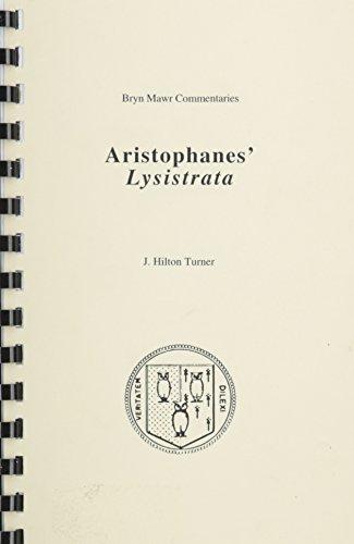 Lysistrata  Bryn Mawr Commentaries  Greek