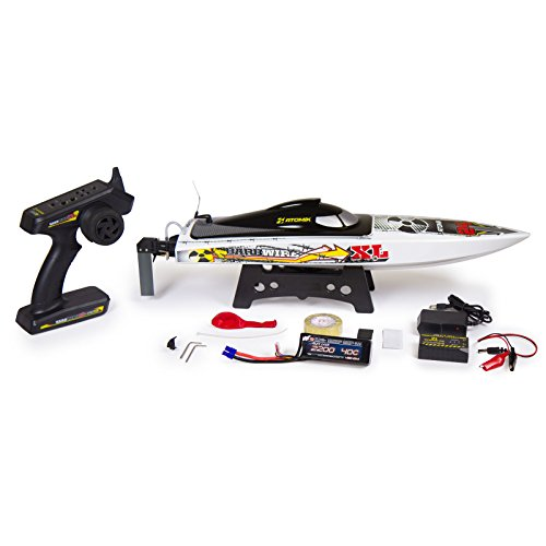 Atomik Barbwire XL 24″ RTR Brushless RC Race Boat – Self Righting V Hull Design
